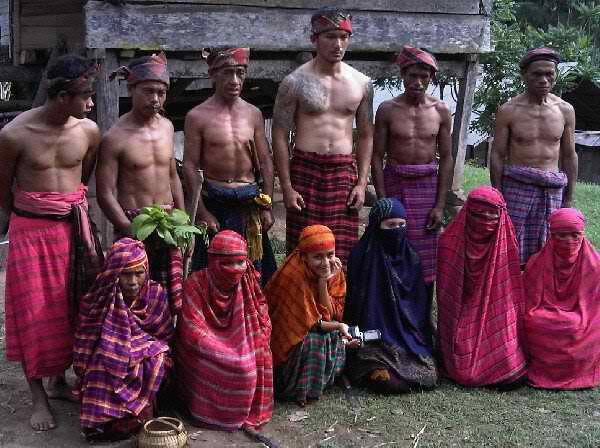 Mbojo local people with sarong
